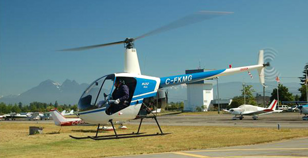 R22 Beta Helicopter